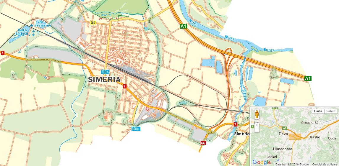 Harta interactivă